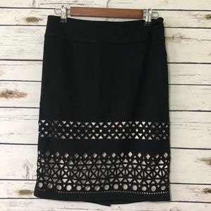 Laser cut The Limited skirt size 2